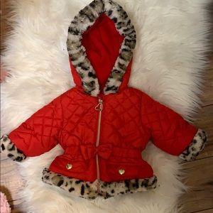 Baby girl coat 6 months